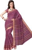 Suhanee Printed Gadwal Cotton Saree (Pur...