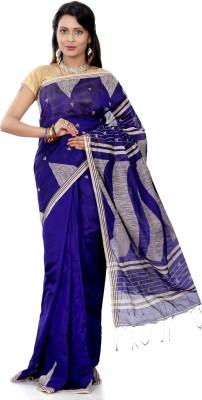 B3Fashion Woven Tangail Handloom Silk Cotton Blend Sari