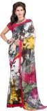Aufwind Printed Fashion Georgette Sari