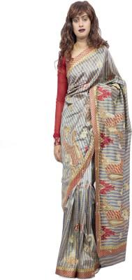G3 Fashions Self Design Bollywood Handloom Pure Georgette Sari