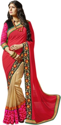 Fashion Founder Embriodered Bollywood Georgette Sari