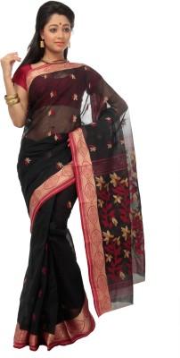 Deshna Solid Tant Handloom Cotton Sari