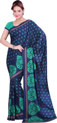 Ishin Prints Printed Fashion Crepe Sari
