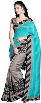 Jay Ganesh Enterprise Printed Bhagalpuri Silk Sari