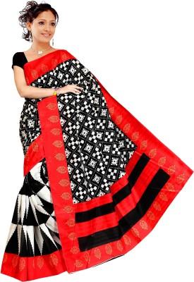 Madhav Fashion Floral Print Bhagalpuri Art Silk Sari