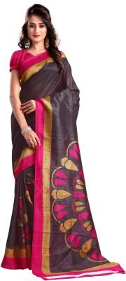 VardhitaFashion Printed Bhagalpuri Silk Sari