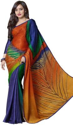 Vonage Printed Bollywood Silk, Jacquard Sari