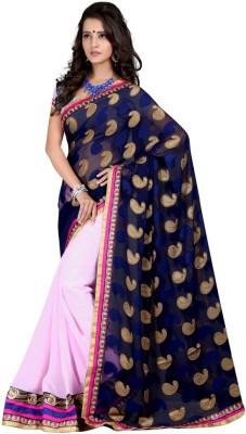 Aryansh Designers Self Design Kanjivaram Georgette Sari
