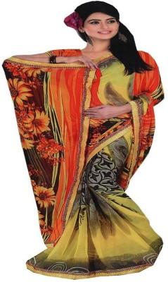 Saloni Printed Fashion Synthetic Sari