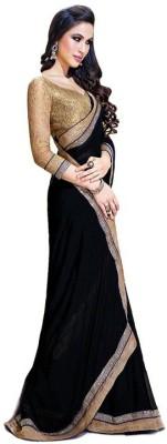Youthmart Embriodered Manipuri Handloom Georgette Sari
