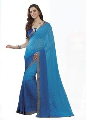 Rajhans Fashion Woven Fashion Georgette Sari