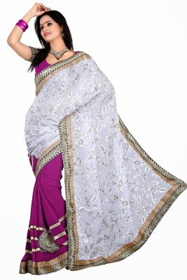V Star Self Design Daily Wear Brasso Sari
