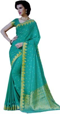 Shaarada Self Design Fashion Pure Georgette Sari