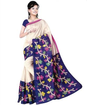 TrulyDesi Self Design Bhagalpuri Silk Sari