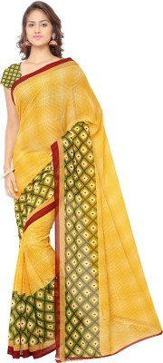 Uttam Vastra Printed Daily Wear Georgette Sari