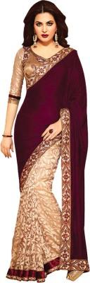 Sumit Self Design Bollywood Georgette Sari