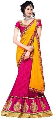 Gunjan Embriodered, Self Design Bollywood Georgette Sari