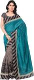 3NH Printed Bhagalpuri Khadi Saree (Grey...
