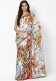 Hautewagon Floral Print Fashion Handloom...
