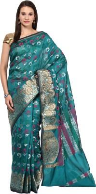 Kyla F Woven Chanderi Art Silk Sari