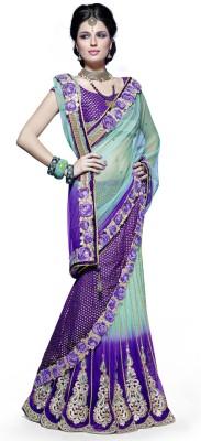 Mehak Printed Brocade Sari