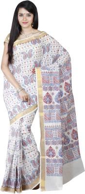 JISB Printed Coimbatore Cotton Sari