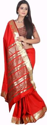 Garg Fashion Self Design Banarasi Art Silk Sari