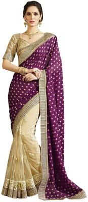Zenny Creation Embriodered Bollywood Net Sari