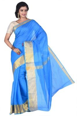 Creation Woven Fashion Handloom Silk Cotton Blend Sari