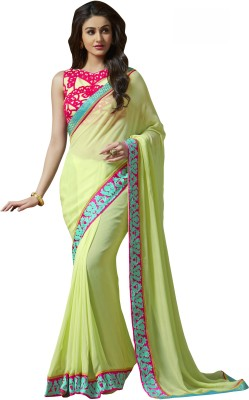 Anwesha Sarees Embriodered Fashion Pure Georgette Sari