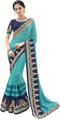 Patiala House Embriodered Fashion Georgette Sari
