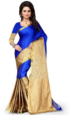 Jhilmil Fashion Self Design Fashion Cotton Saree(Multicolor) at flipkart