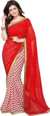 Stella Creation Printed Daily Wear Georgette Sari