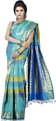 Sudarshan Silks Floral Print Silk Sari