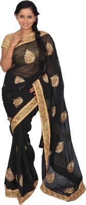 Lavya Embriodered Bollywood Handloom Chiffon Sari