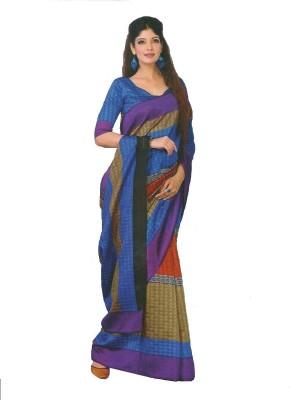 TrulyDesi Self Design Fashion Silk Sari