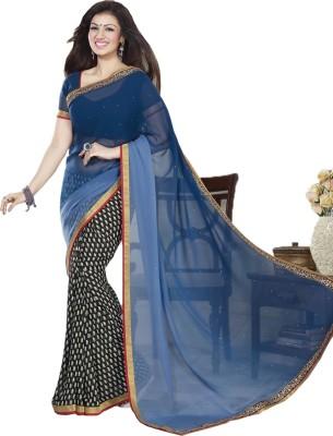 Chhaya Creation Printed Bollywood Georgette Sari