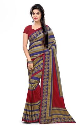 Urban Vastra Striped Fashion Raw Silk Sari