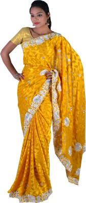 Ak designs Polka Print Fashion Cotton Sari