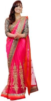 Jayambeyent Embriodered Fashion Net Sari
