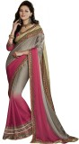 Melluha Embriodered Fashion Chiffon Sari...