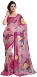 Vedhas Floral Print Daily Wear Chiffon S...
