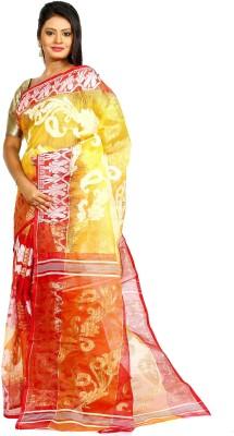 Aryika Woven Jamdani Handloom Silk Sari