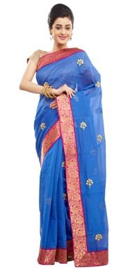 Babins Boutique Self Design Fashion Chanderi Sari