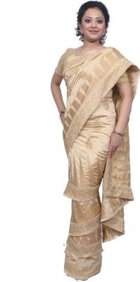 Tanjinas Paisley Fashion Dupion Silk Sari