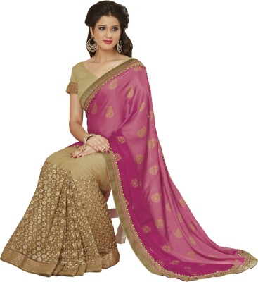 Subhash Sarees Self Design Fashion Satin, Net Sari