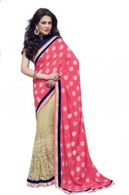 Nilu Tex Embriodered Bollywood Handloom Net Sari