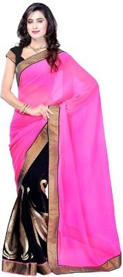 Tejaswini Self Design Bollywood Chiffon Sari