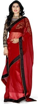Naksh Creation Solid Bollywood Net Sari