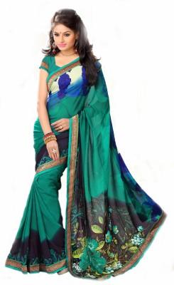 RK Trends Printed Fashion Georgette Sari